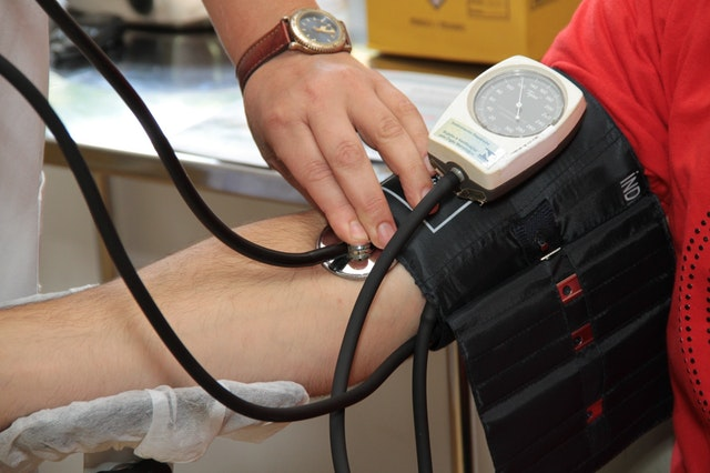 taking vital signs